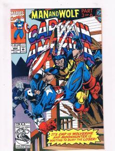 Captain America #404 VF/NM 1st Print Marvel Comic Book Avengers Thor Hulk DE2