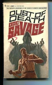 DOC SAVAGE-DUST OF DEATH-#32-ROBESON-G-JAMES BAMA COVER-1ST EDITION G