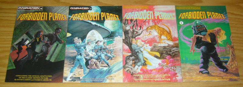 Forbidden Planet #1-4 VF/NM complete series based on the classic movie 2 3 set