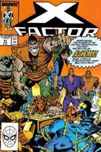X-Factor (1986 series) #41, VF+ (Stock photo)