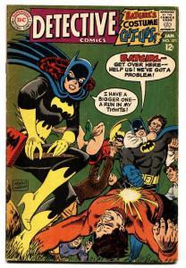 DETECTIVE #371-DC COMIC BOOK-BATGIRL-1ST NEW BATMOBILE vg+