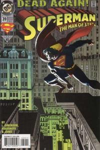 Superman: The Man of Steel #39, NM (Stock photo)