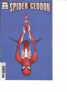 Spider-Geddon #0 JTC VARIANT signed John Tyler Christopher