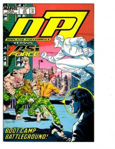 D.P.7 #23, NM, Displaced Paranormals, Marvel, 1986 1987, more Marvel in store