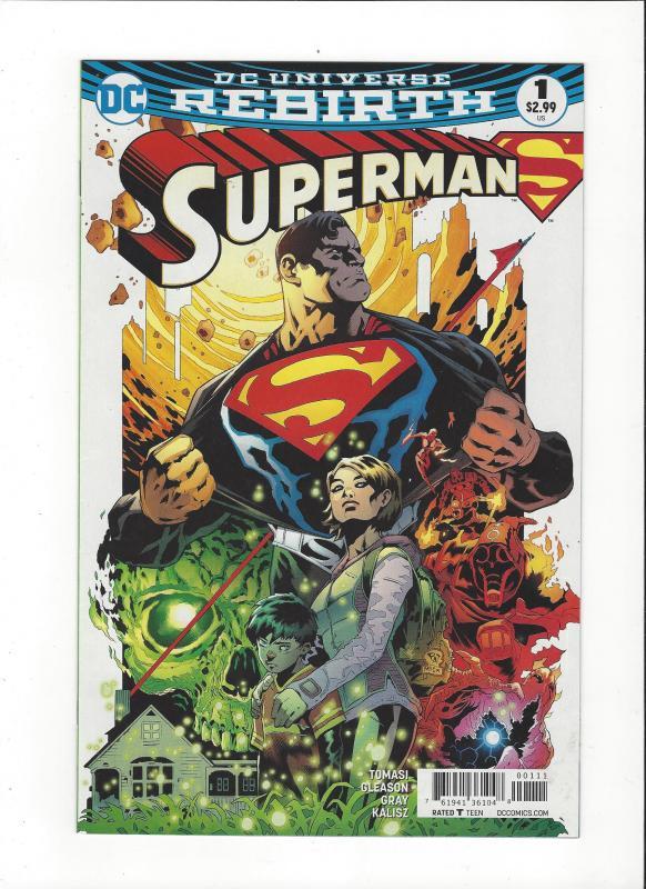 Superman #1 DC Universe Rebirth NM