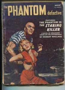 PHANTOM DETECTIVE-WINTER 1953-THRILLING-GOOD GIRL ART-HERO PULP-MYSTERY-good