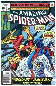 AMAZING SPIDER-MAN #182-vf/nm-Bronze Age--High Grade VF/NM