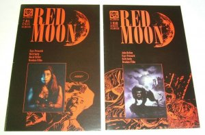 Red Moon #1-2 FN complete series - john bolton - mike deodato horror set lot