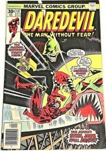 DAREDEVIL#137 FN/VF 1976 MARVEL BRONZE AGE COMICS