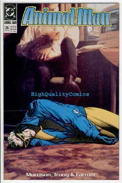 ANIMAL MAN #26, Deus Ex Machina, VF/NM, Grant Morrison, Vertigo