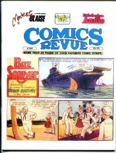 Comics Revue #186 2001-Roy Crane-Buz Sawyer-Phantom-Modesty Blaise-VF