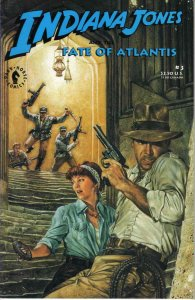 Indiana Jones and the Fate of Atlantis #3 VF/NM; Dark Horse | save on shipping -