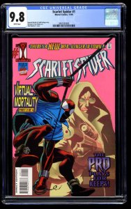 Scarlet Spider #1 CGC NM/M 9.8 White Pages