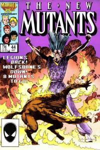 New Mutants (1983 series) #44, VF- (Stock photo)