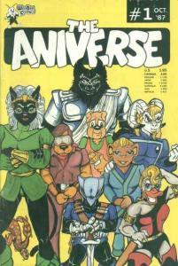 Aniverse #1, VF (Stock photo)