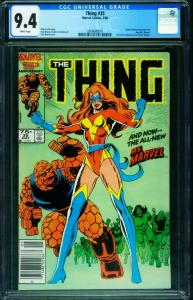 THE THING #35 CGC 9.4 1986 1st new Ms. Marvel 2006680019
