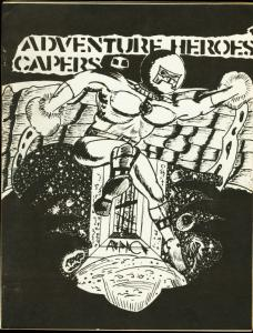 ADVENTURE HERO CAPERS #1-1966-SCARCE COMIC FANZINE FN