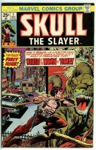 Skull the Slayer #1 (1975) - 6.5 FN+ *The Coming of Skull the Slayer*