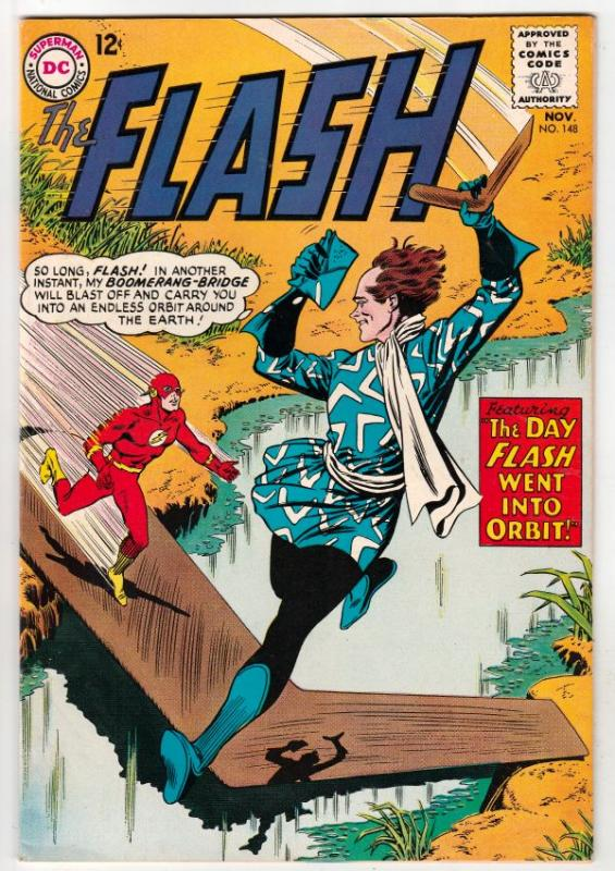 Flash, The #148 (Nov-64) VF High-Grade Flash