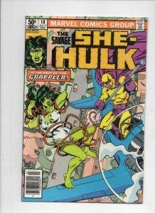 SHE-HULK #18, VF+, Grappler, 1980 1981, more Marvel and She-Hulk in store