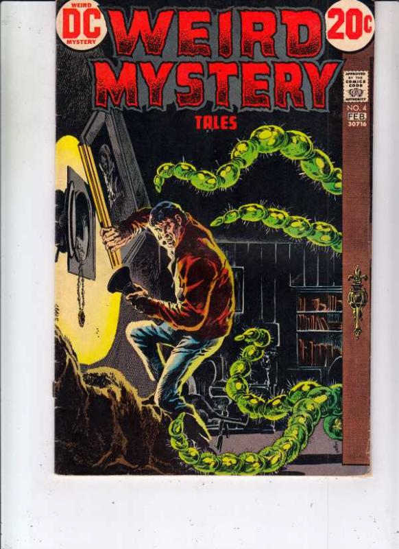 Weird Mystery Tales #4 (Feb-73) VG Affordable-Grade