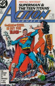 Action Comics #584 VF/NM; DC | save on shipping - details inside