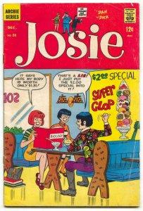 Josie #31 1967- Archie Silver Age Comic- ice cream cover