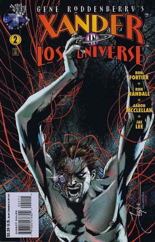 Xander in Lost Universe (Gene Roddenberry's…) #2 FN; Tekno | save on shipping -
