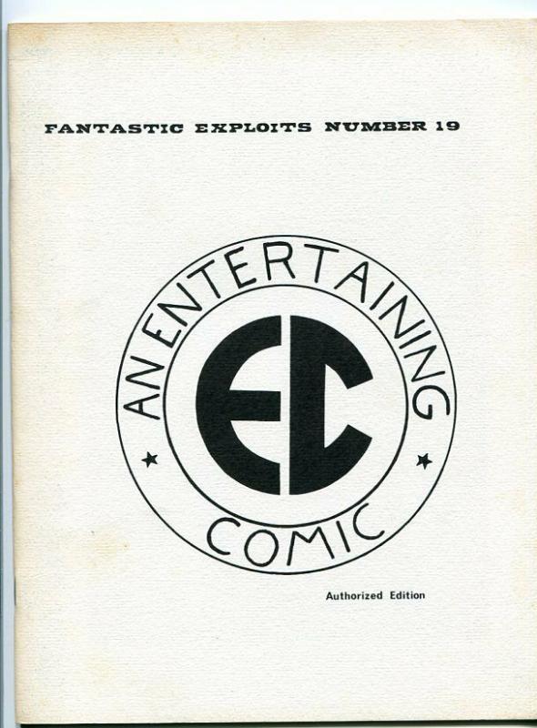 FANTASTIC EXPLOITS #19-SPECIAL EDITION-EC STORIES-FRAZETTA/WOOD/KRENDEL-1970'S