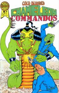 Cold Blooded Chameleon Commandos #3, NM- (Stock photo)