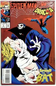 SPIDER-MAN VS. DRACULA #1 JANUARY 1994  High Grade Unread NM Vampire  Comic