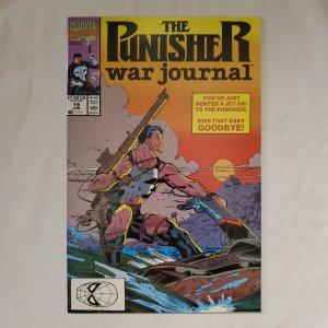 Punisher War Journal 19 Near Mint- Cover art by Jim Lee