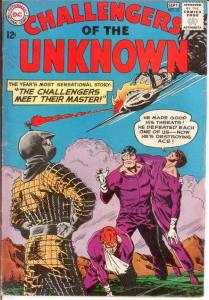 CHALLENGERS OF THE UNKNOWN 33 VG Sept. 1963 COMICS BOOK