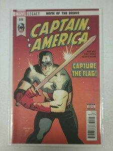 Captain America #696 Marvel Legacy Comics 2017 NW139