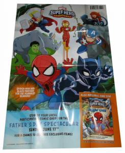 Marvel Superhero Adventures  Folded Promo Poster (36 x 24) - New!