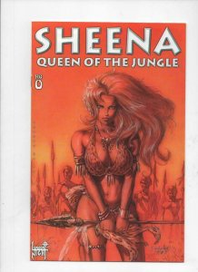 SHEENA #0, VF/NM, Queen of the Jungle, 1998, London Night, more indies in store