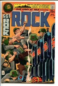 OUR ARMY AT WAR #225-SGT. ROCK-DC VG+