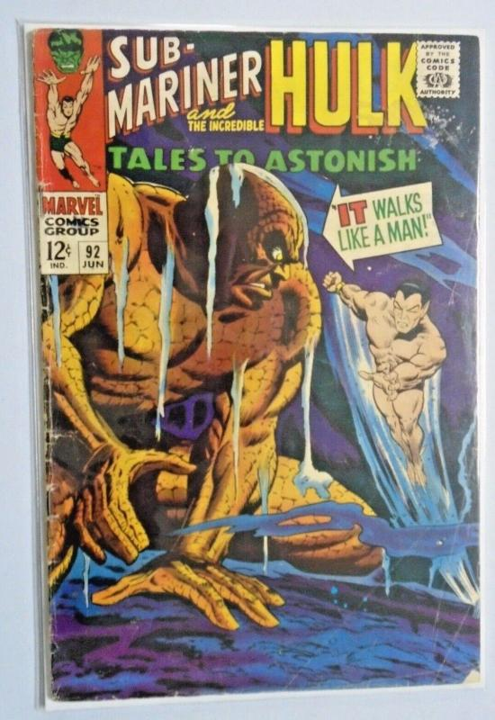 Tales to Astonish #92 - First 1st Series  3.5 (1967)