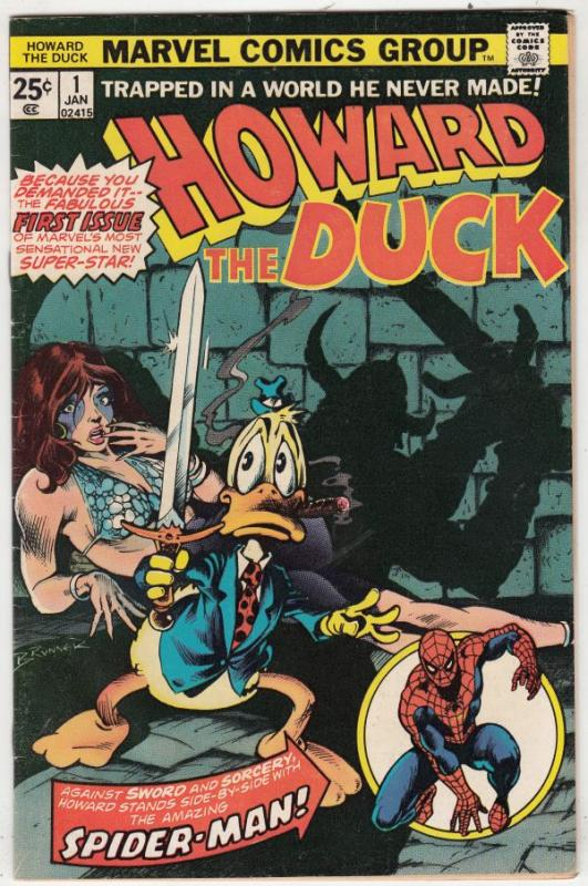 Howard the Duck #1 (Jan-76) VF High-Grade Howard the Duck
