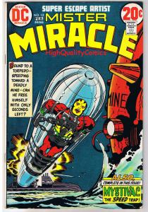 MISTER MIRACLE #12, FN+, Jack Kirby, 4th World, 1971, more JK in store