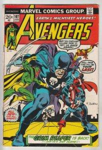 Avengers, The #107 (Jan-73) FN+ Mid-High-Grade Avengers