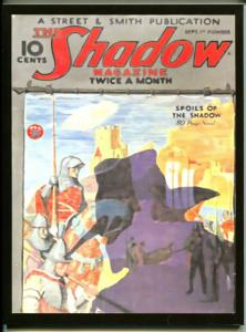 Shadow Pulp Reprint 2006-Spoils Of Shadow-Maxwell Grant-9/1/1934 publish date-NM