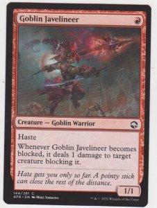 Magic the Gathering: Adventures in the Forgotten Realms - Goblin Javelineer