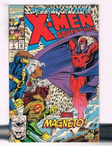 X-Men Adventures #3 VF Marvel Comics Enter Magneto Comic Book DE16
