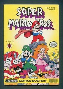 Super Mario Bros. #3  / 8.5 VFN+  / June 1990