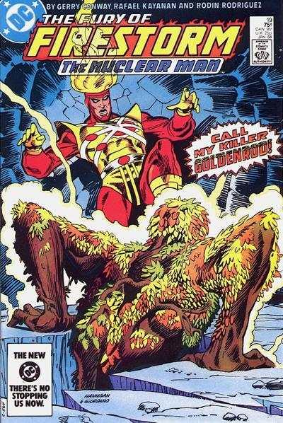 Fury of Firestorm (1982 series) #19, NM (Stock photo)