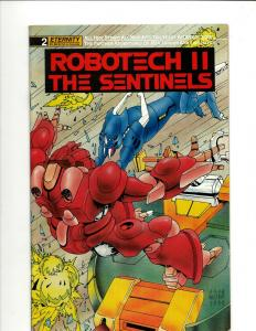 12 Robotech II Comics #2 3 4 4 5 5 6 6 7 8 9 10 JF20