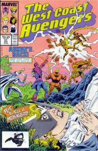 West Coast Avengers (1985 series) #31, NM- (Stock photo)
