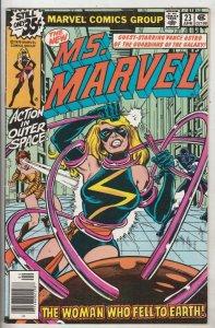Ms. Marvel #23 (Apr-79) NM- High-Grade Ms. Marvel