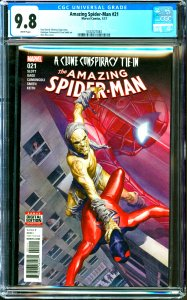 Amazing Spider-Man #21 CGC Graded 9.8